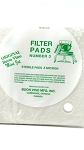 Filter Mini Pad #3 Sterile Micron .5
