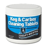 Craft Meister  Keg & Carboy Cleaning Tabs