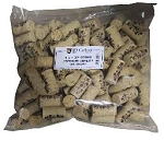 9X1 3/4 PREMIUM QUALITY STRAIGHT WINE CORKS 100/BAG