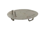 STAINLESS STEEL FALSE BOTTOM W/ LEGS FOR 8 GAL POTS/KETTLES