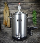 7.5 GALLON STAINLESS BUCKET FERMENTOR