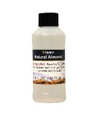 NATURAL ALMOND FLAVORING EXTRACT 4 OZ