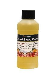 NATURAL BLOOD ORANGE  NATURAL FLAVORING EXTRACT 4 OZ