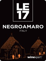 Negroamaro with Grape Skins - Apulia, Italy LE17